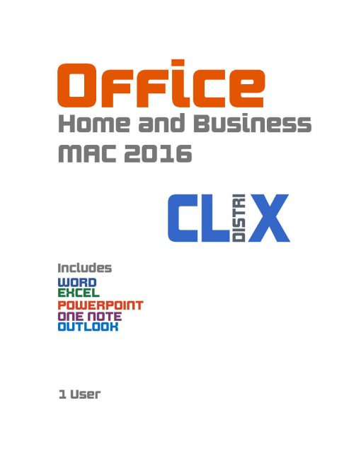 CLIX Office 2016 Home and Business MAC 1
